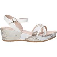 Buty Dziewczynka Sandały Alviero Martini 0641 0910 Biały