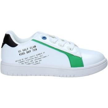 Buty Dziecko Trampki niskie U.s. Golf S21-S00UK811 Biały