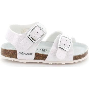 Buty Dziecko Sandały Grunland SB1258 Biały