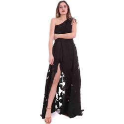 tekstylia Damskie Sukienki długie Federica Tosi FTE20AB070.0CH0013 Czarny