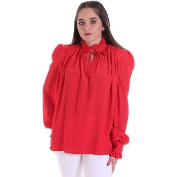 tekstylia Damskie Topy / Bluzki Cristinaeffe 0138 2291 Czerwony