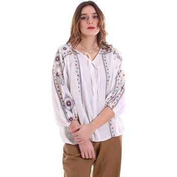 tekstylia Damskie Topy / Bluzki Alessia Santi 011SD45039 Biały