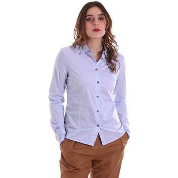 tekstylia Damskie Koszule Alessia Santi 011SD45049 Niebieski