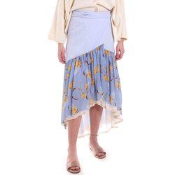 tekstylia Damskie Spódnice Alessia Santi 011SD75003 Niebieski