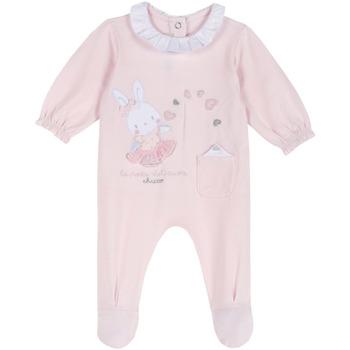 tekstylia Dziecko Kombinezony / Ogrodniczki Chicco 09023955000000 Różowy
