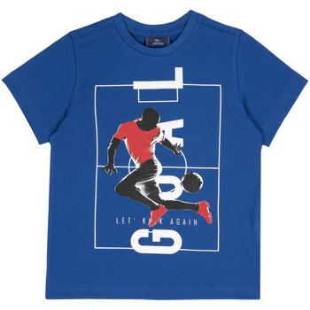 tekstylia Dziecko T-shirty z krótkim rękawem Chicco 09067134000000 Niebieski