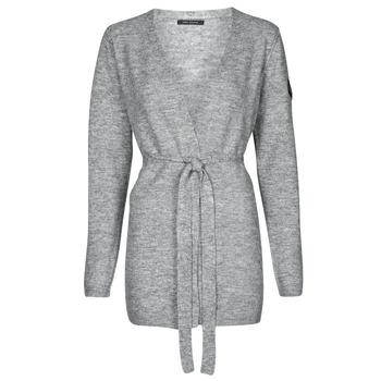 tekstylia Damskie Swetry rozpinane / Kardigany Ikks GROWNI Szary