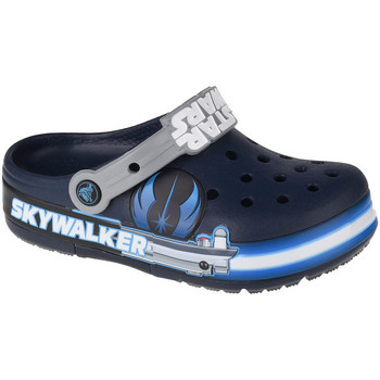 Buty Dziecko Chodaki Crocs Fun Lab Luke Skywalker Lights K Clog Niebieski