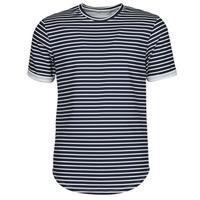 tekstylia Męskie T-shirty z krótkim rękawem Yurban ORICO Marine / Biały