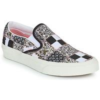 Buty Tenisówki Vans SLIP ON Czarny / Biały / Różowy