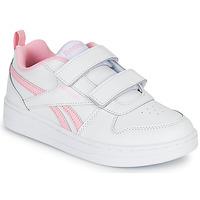 Buty Dziewczynka Trampki niskie Reebok Classic REEBOK ROYAL PRIME Biały / Różowy