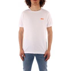 tekstylia Męskie T-shirty z krótkim rękawem Refrigiwear JE9101-T27100 Biały