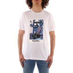 tekstylia Męskie T-shirty z krótkim rękawem Refrigiwear JE9101-T24400 Biały