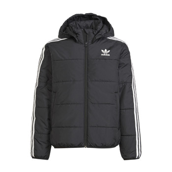 tekstylia Dziecko Kurtki pikowane adidas Originals SOLITARE Czarny