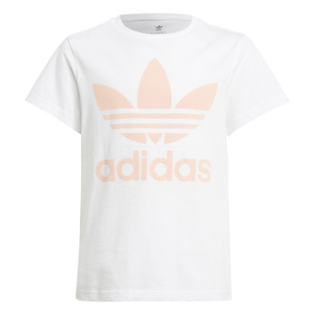 tekstylia Dziecko T-shirty z krótkim rękawem adidas Originals VAGUO Biały