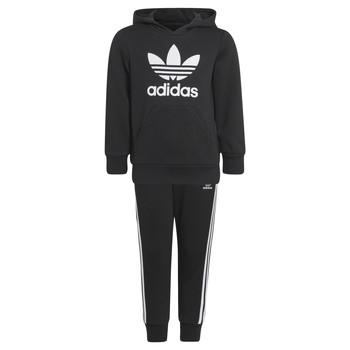 tekstylia Dziecko Zestawy dresowe adidas Originals SOURIT Czarny