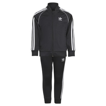 tekstylia Dziecko Zestawy dresowe adidas Originals RISUER Czarny