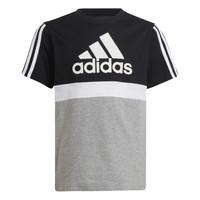 tekstylia Chłopiec T-shirty z krótkim rękawem adidas Performance MOULITA Szary / Czarny