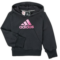 tekstylia Dziewczynka Bluzy adidas Performance KINOM Czarny