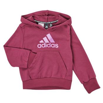 tekstylia Dziewczynka Bluzy adidas Performance MARINE Różowy