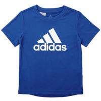 tekstylia Chłopiec T-shirty z krótkim rękawem adidas Performance CLAUDIA Niebieski