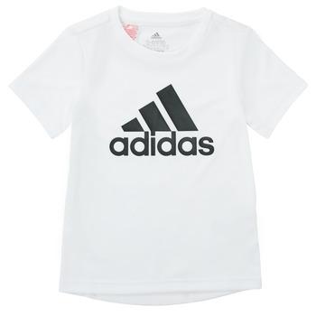 tekstylia Chłopiec T-shirty z krótkim rękawem adidas Performance NADEGE Biały