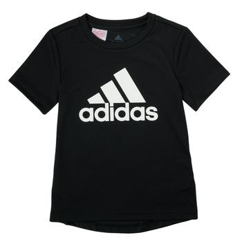 tekstylia Chłopiec T-shirty z krótkim rękawem adidas Performance NADGED Czarny