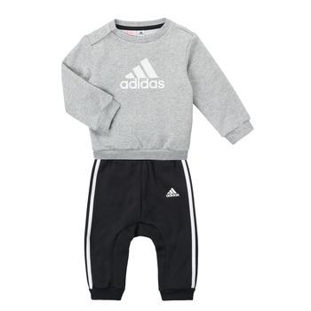 tekstylia Chłopiec Komplet adidas Performance SONIA Szary / Czarny