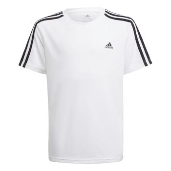 tekstylia Chłopiec T-shirty z krótkim rękawem adidas Performance AYMERICA Biały