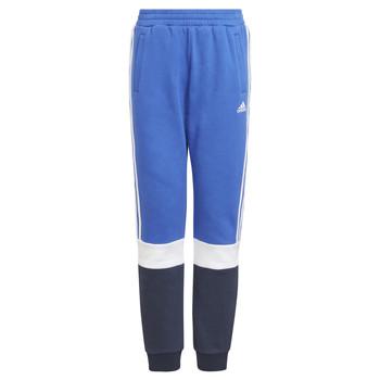 tekstylia Chłopiec Spodnie dresowe adidas Performance KATIA Marine / Czarny