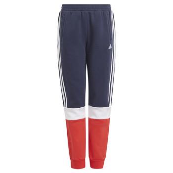 tekstylia Chłopiec Spodnie dresowe adidas Performance ALMANA Marine / Czerwony