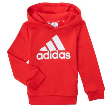 tekstylia Chłopiec Bluzy adidas Performance GENIZA Czerwony