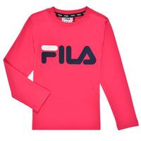 tekstylia Dziewczynka T-shirty z długim rękawem Fila ESPIN Różowy