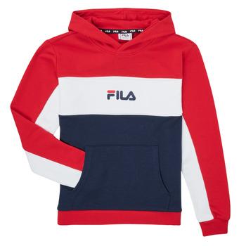 tekstylia Dziewczynka Bluzy Fila POLLY Czerwony / Marine
