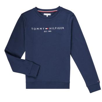 tekstylia Chłopiec Bluzy Tommy Hilfiger TERRIS Marine
