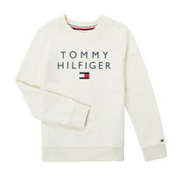 tekstylia Chłopiec Bluzy Tommy Hilfiger HERTINA Biały