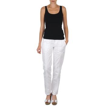 tekstylia Damskie Spodnie z pięcioma kieszeniami O'neill DANI Biały