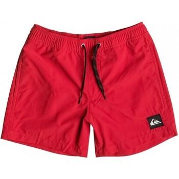 tekstylia Dziecko Kostiumy / Szorty kąpielowe Quiksilver Everyday 13 EQBJV03042 Czerwony