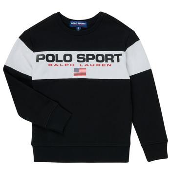 tekstylia Chłopiec Bluzy Polo Ralph Lauren SIMEON Czarny