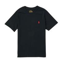 tekstylia Chłopiec T-shirty z krótkim rękawem Polo Ralph Lauren FANNY Czarny