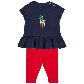 tekstylia Chłopiec Komplet Polo Ralph Lauren BETINA Wielokolorowy