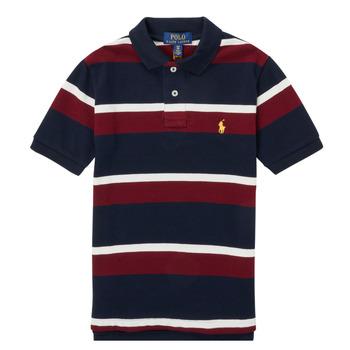 tekstylia Chłopiec Koszulki polo z krótkim rękawem Polo Ralph Lauren POLLONO Wielokolorowy