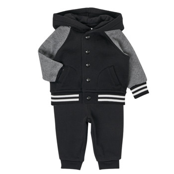 tekstylia Chłopiec Komplet Polo Ralph Lauren DENILO Czarny / Szary