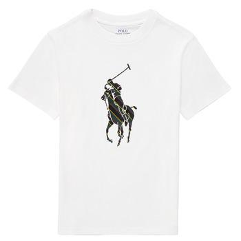 tekstylia Chłopiec T-shirty z krótkim rękawem Polo Ralph Lauren GUILIA Biały