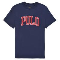 tekstylia Dziewczynka T-shirty z krótkim rękawem Polo Ralph Lauren MATIKA Marine