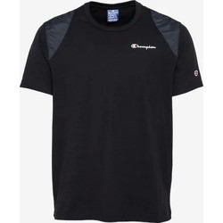 tekstylia Męskie T-shirty z krótkim rękawem Champion CAMISETA HOMBRE  KK001 Czarny