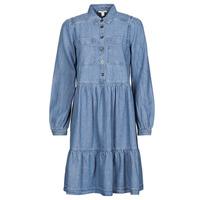 tekstylia Damskie Sukienki krótkie Esprit COO DRESS Niebieski