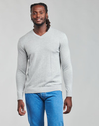 tekstylia Męskie Swetry Esprit F PIMA V-NK Szary