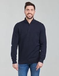 tekstylia Męskie Swetry Esprit PIMA TRO Niebieski