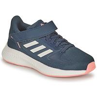 Buty Dziewczynka Bieganie / trail adidas Performance RUNFALCON 2.0 C Marine / Różowy